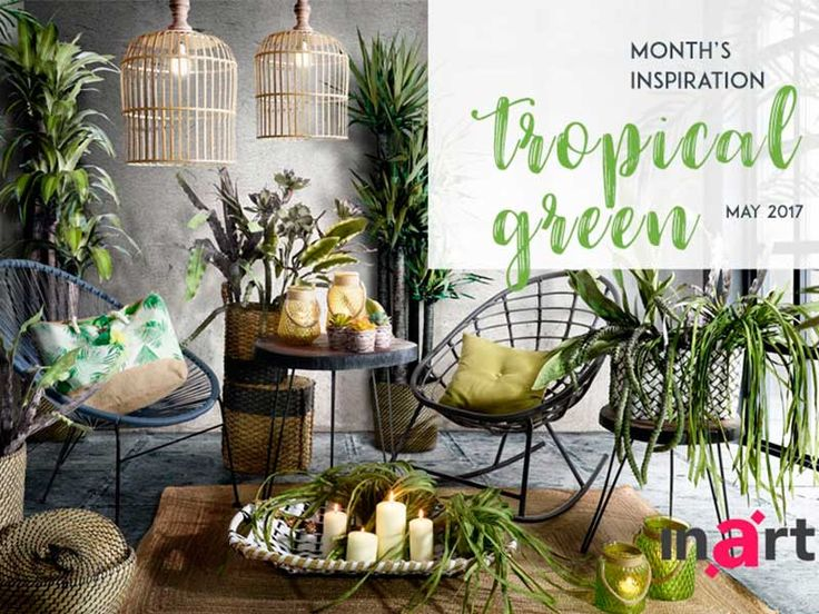 Το Χρώμα της Σεζόν 2017: Τροπικό Πράσινο!