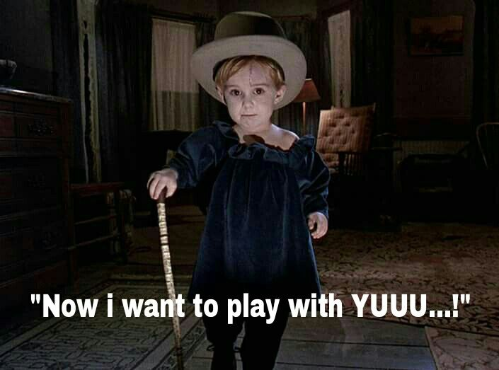 """""""Now i want to play with YUUU!"""" (""""Pet Sematary"""", 1989)"""