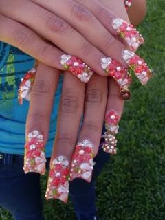 sinaloa nails pictures   Luz Art Nails on Myspace