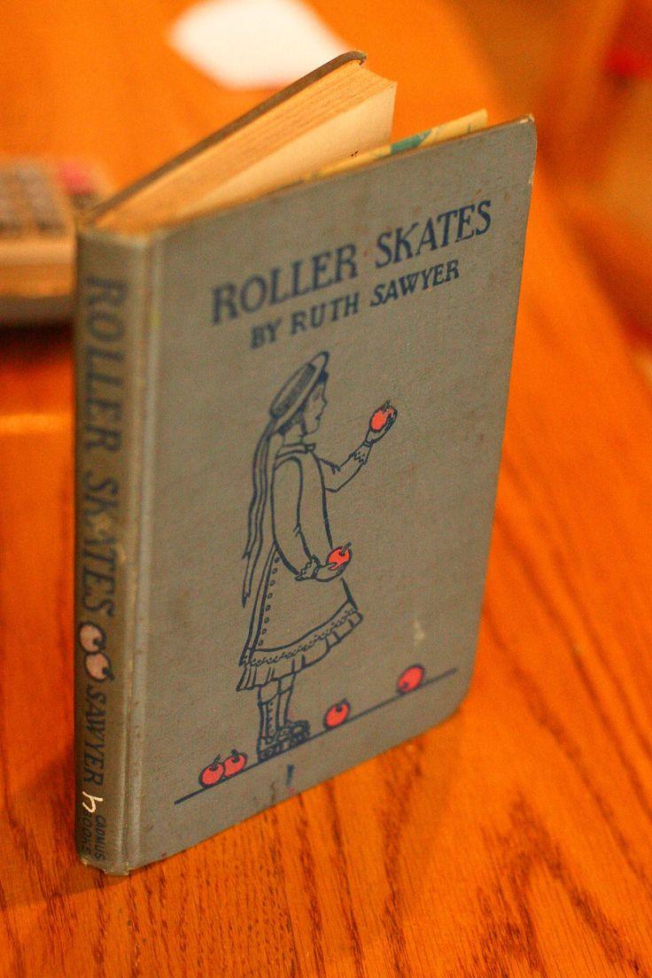 Roller skates book - 1936 Roller Skates Vintage Book