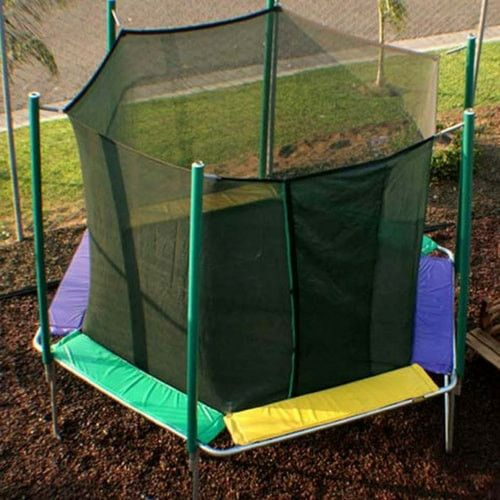 Magic Circle 12 FT Hexagon Trampoline with Safety Enclosure Net