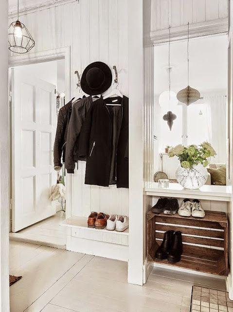 Virlova Interiorismo: [Deco] Mini apartamento de 38 m² en paleta neutra