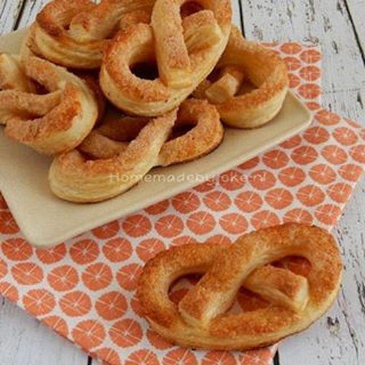Het recept voor deze Kaneel krakelingen staat nu op mijn blog