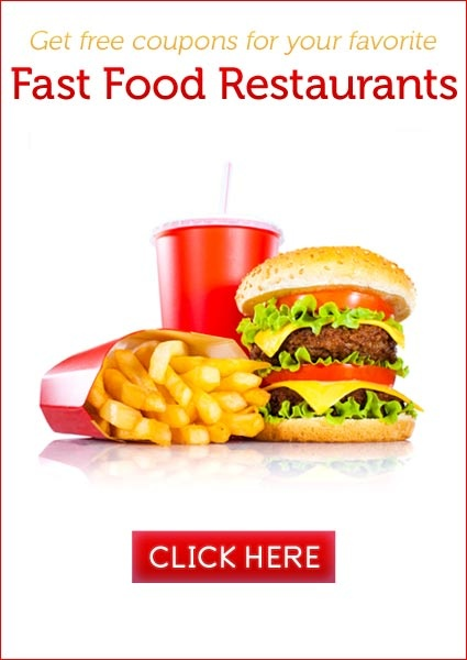 Chain restaurant coupons