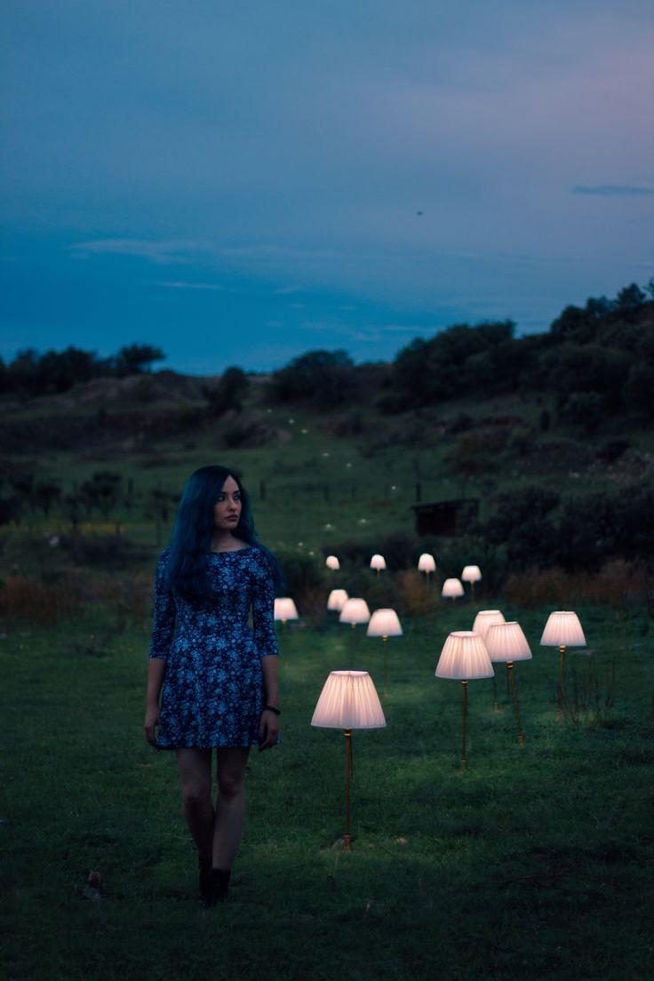 Ann y el camino de luz  | Fotografía surreal