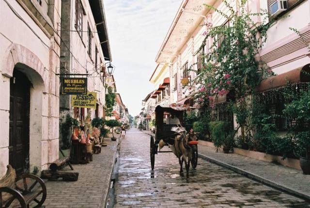 フィリピン、ビガン。フィリピン、ビガン歴史都市【世界遺産】