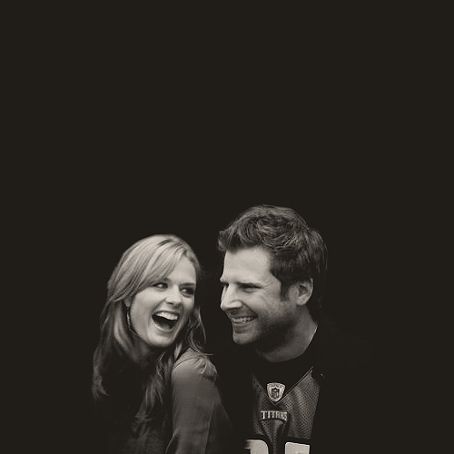 Cutest on-screen/off-screen couple - Maggie Lawson & James Roday. I <3 Psych!