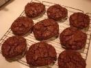 Absolutely Deep Dark Chocolate Fudge Cookies
