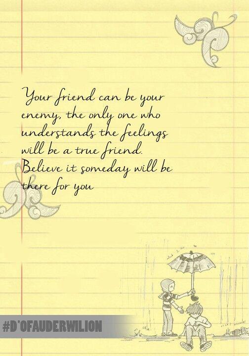 Carilah teman sejati ;)
