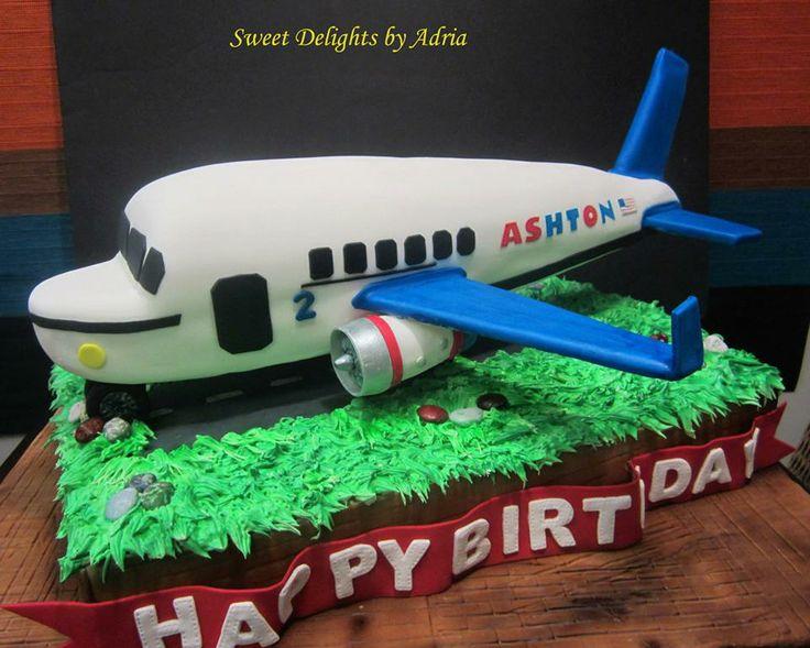 Airplane cake recipe