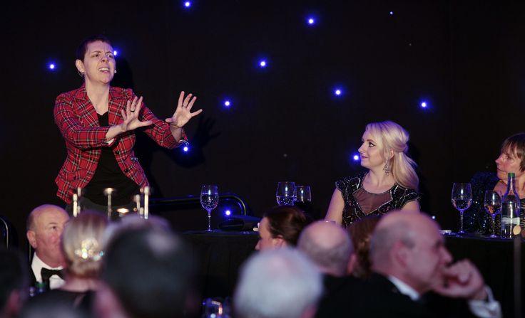 Karen Dunbar performed Tam O' Shanter at our Question of Burns supper 2015