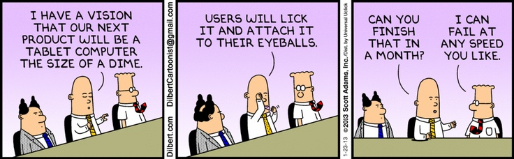 The Dilbert Strip for January 23, 2013 Comics