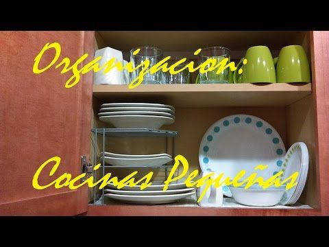 HOGAR: IDEAS PARA COCINAS PEQUEÑAS│MissLizChannel - YouTube