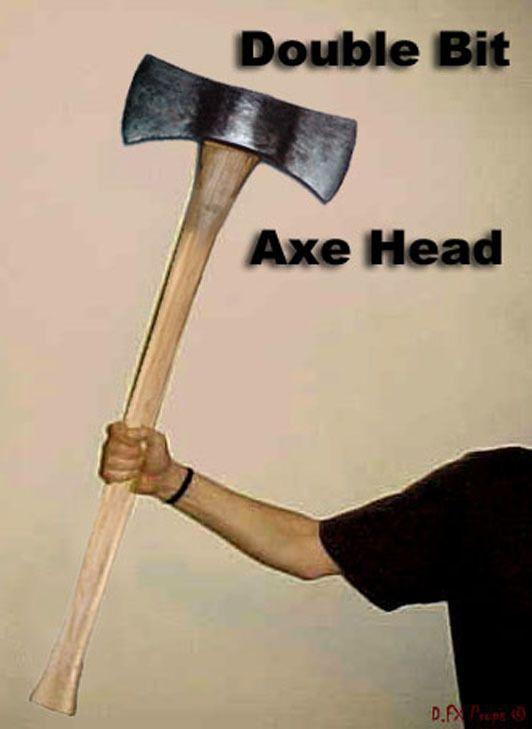 halloween props axes
