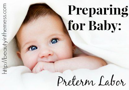 Ways to naturally stop preterm labor.