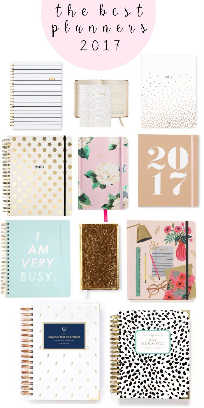 2017 planners, 2017 agendas, school supplies, planning, best planners for 2017