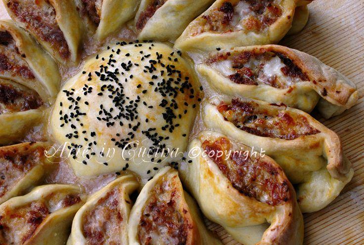 Girasole rustico farcito con foto passo passo cucina for B cucina e pizza