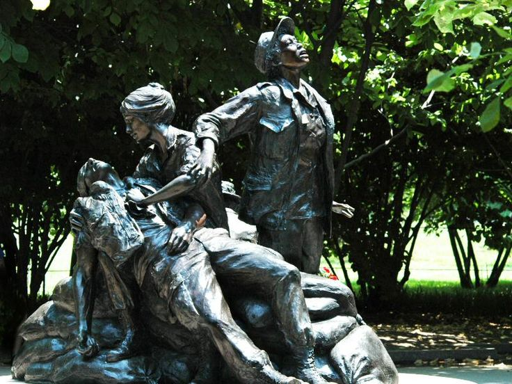 Vietnam War Nurses Memorial, Washington DC http://www.pbase.com ...