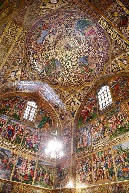 Vank Church in Isfahan, Iran