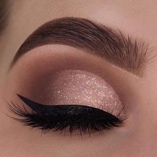 #Eyes #Glitter #Ojos #Eyebrows #Eyeliner #Escarcha