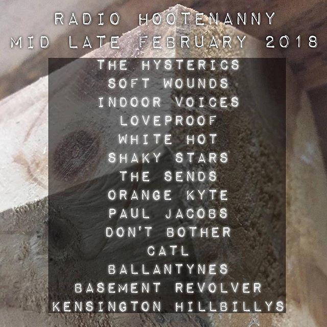 Radio Hootenanny Bombshell Radio Today Radio Hootenanny www.bombshellradio.com Regular Time Slot: Thursdays 3  5pm ET repeats Fridays 3am-5am EST  #RadioHootenanny #Radioshow #Dj #DJSkip #Alternative #Indie #Rock #Canadian #CollegeRock #BombshellRadio  our  Radio Hootenanny menu for this week is ready! tune in deats @ www.thehillsarealive.ca!  features 's from the likes of: denotes Canadian  radio hootenanny theme  djskip meets king kong girio  rub  the hysterics  on the fence  soft wounds…