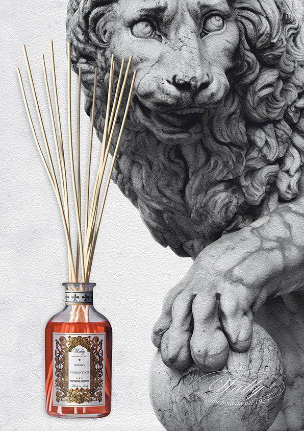 La Fragranza d'Ambiente ROSSO FIORENTINO profuma gli ambienti di Palazzo Strozzi, Firenze in occasione della Mostra Pontormo e Rosso Fiorentino.