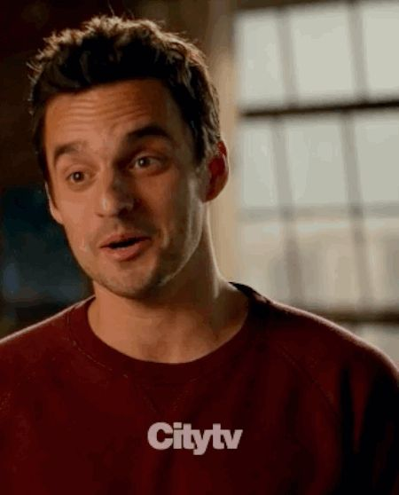 Jake Johnson has got it down. | 28 Celebrity Winks To Melt Your Actual Heart