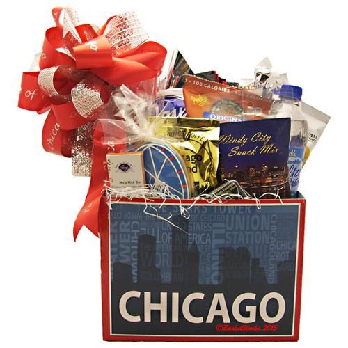14 best chicago gift baskets images on pinterest gift basket gift taste of chicago gift basket negle Gallery
