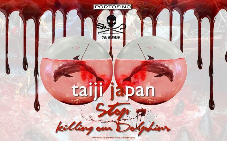Japan: do not let the water run red! Portofino.it® #thedolphinsofportofino