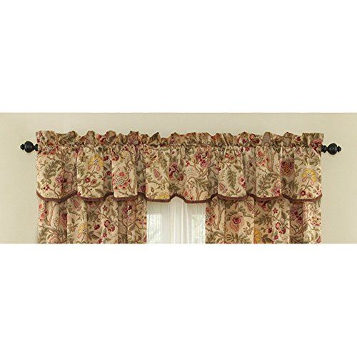 1000 ideas about waverly valances on pinterest corner stove waverly curtains and mobile home - Waverly kitchen curtains ...