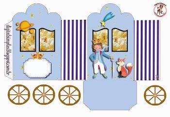 The Little Prince: Free Printable Princes Coach Box.