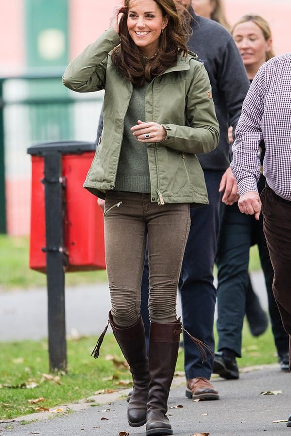 e65ec75071e4 Kate Middleton Rocked the Perfect Riding Boots for Fall on Her Official Return  from Maternity Leave  purewow  royal family  kate middleton  fashion ...