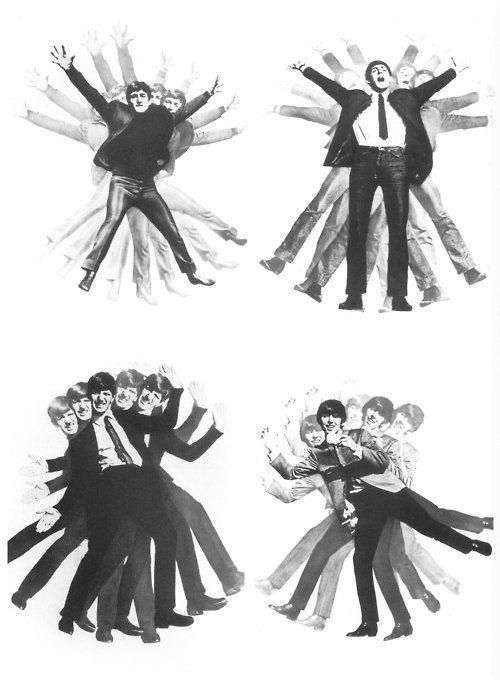 """The Beatles Go Mad!!!!!!!!!!!!! ""---------------July 1963, ph: Dezo Hoffmann"