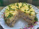 Торт-салат «Чудо-слойка». Обсуждение на LiveInternet - Российский Сервис Онлайн-Дневников