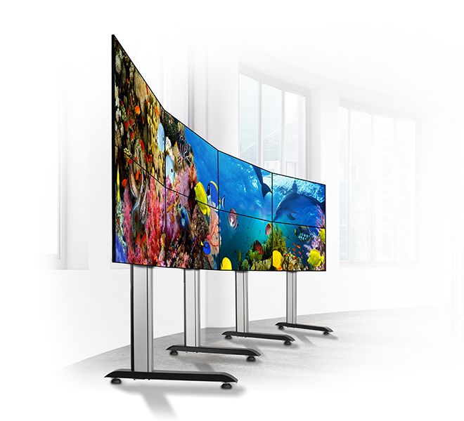Curved video wall stand BT8373 | Display-uri profesionale