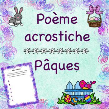 Pâques - Un poème acrostiche