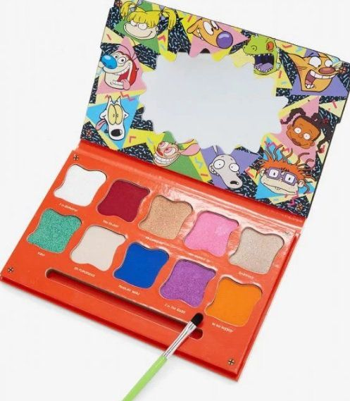 You should see these shadow palettes of your 90's cartoons