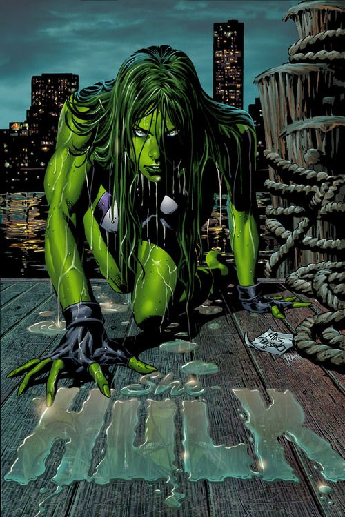 She-Hulk - Mike Deodato Jr.