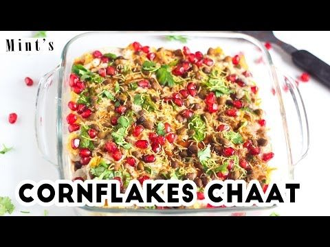 Cornflakes Chaat Recipes in Hindi-Evening Snacks Recipes-Chaat Recipes-Ep-180 - YouTube