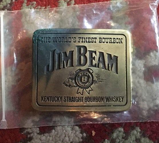 Rare Jim Beam Belt Buckle    eBay