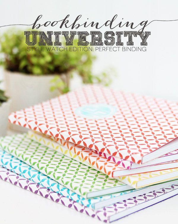 Bookbinding University Style Watch Edition: Perfect Binding - Damask Love
