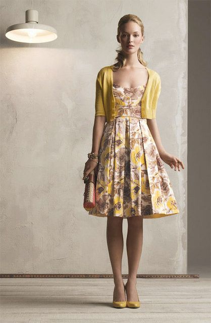 London times yellow dresses