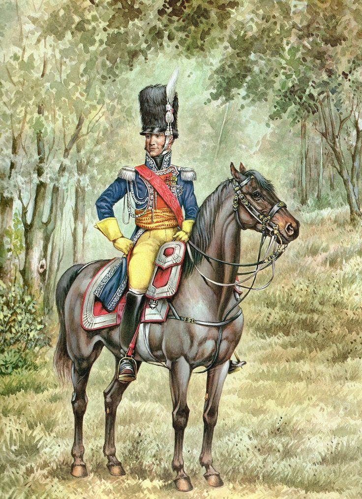Colonel of Gendarmerie, Anne Jean Marie René Savary, duc de Rovigo, by Pierre Conrad.
