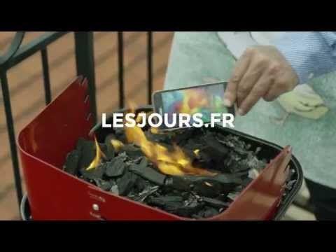 LesJours.fr sur KissKissBankBank (épisode 5) - Pas de fumée, du journalisme. Juin 2015  Conception et réalisation Raphaël Frydman
