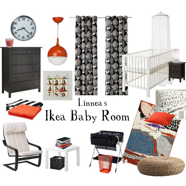 """Linnea's Ikea Baby Room"" by sequin-diva on Polyvore"