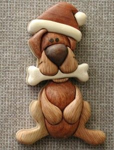 bear intarsia ornaments - Bing Images