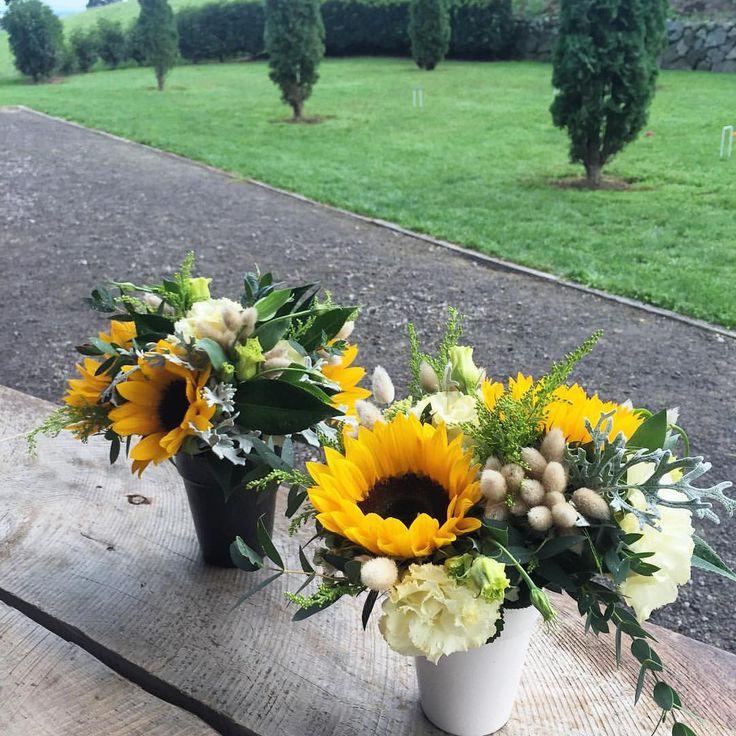 Best sunflower weddings images on pinterest