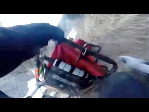 Watch this and Hold tight! Take a wild sled dog ride with 4-time Iditarod champ Jeff King! I love huskies and malamutes but I would not want to do this!