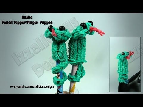 Latex snake hand puppets