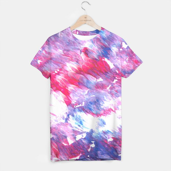 MEN Artistic tshirt Purple plum